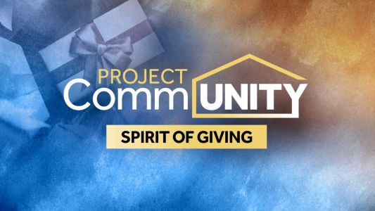 Watch at 7 p.m.: Project Community - Spirit of Giving