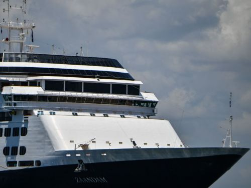 Stranded Holland America cruise ship with 2 confirmed COVID-19 cases will be allowed to cross the Panama Canal