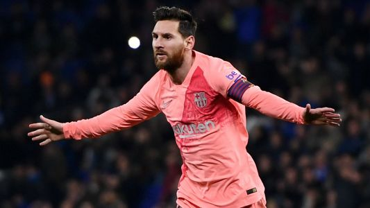 Sublime Messi makes mockery of doubters by driving Barca to dominant derby victory