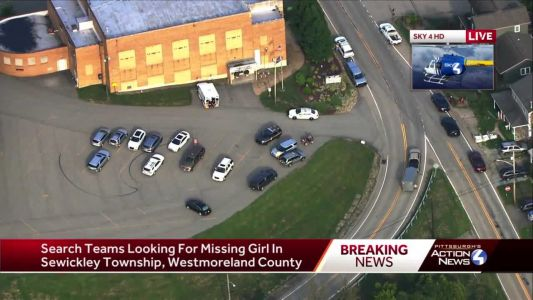 Crews searching for missing girl in Westmoreland County