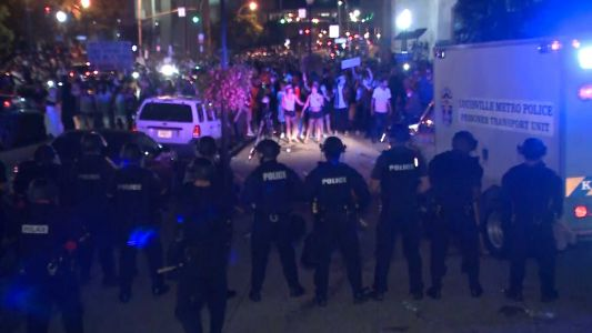 7 people shot, injured in downtown Louisville Breonna Taylor protests