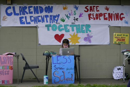 California parents mobilize after feeling 'political disillusionment'