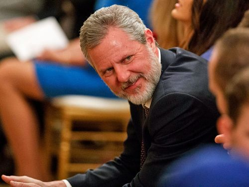 Jerry Falwell Jr.'s infamous photo with his pants unzipped was taken during a yacht party honoring a raunchy TV show, lawsuit says