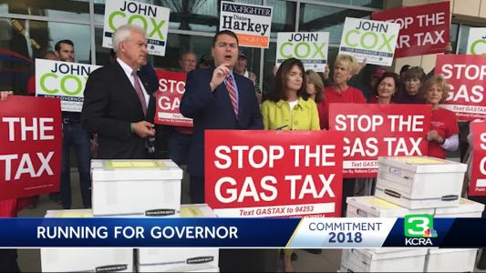 A look at gubernatorial candidate John Cox