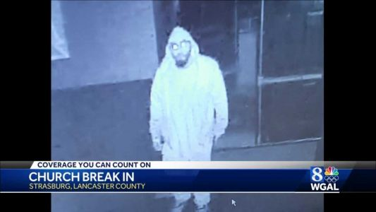 State police: Burglar steals $6K worth of electronics from Lancaster County church
