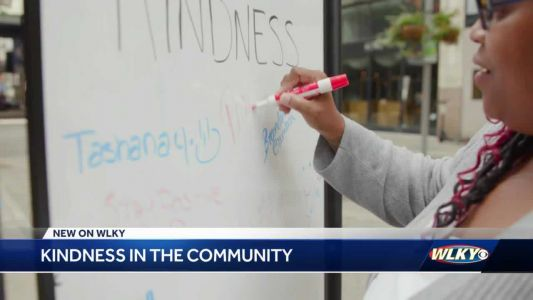 Challenge to find kindness in Louisville uncovers all kinds of good