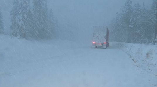 All of I-80 closed in Sierra due to visibility issues