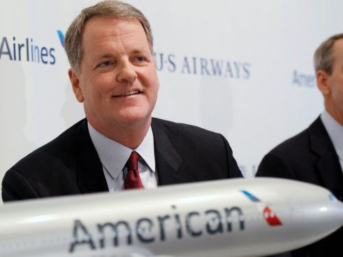 American Airlines CEO reveals the most important lesson he learned from the legendary founder of Southwest Airlines