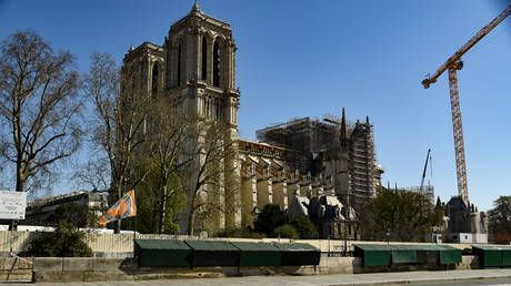 Paris' Notre Dame to host first mass since coronavirus lockdown in symbolic gesture of hope