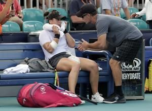 72 tennis players in lockdown after virus cases on flights