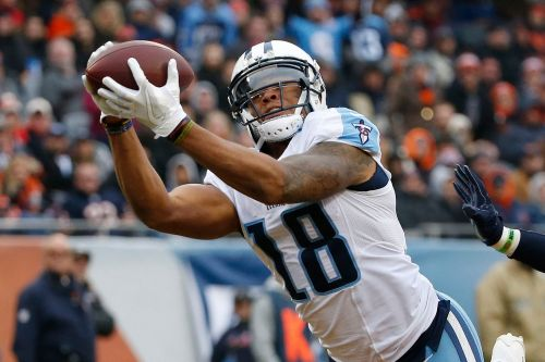 Jets land receiver who forced his way off the Titans