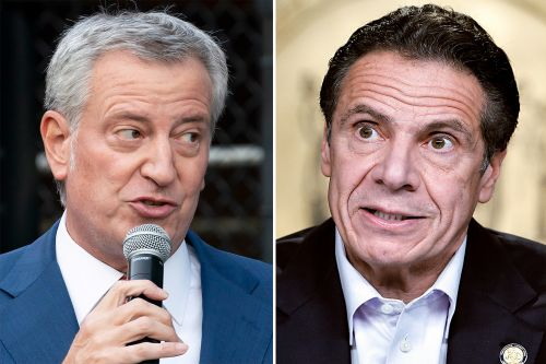Cuomo should lose emergency powers amid sexual harassment claims: de Blasio