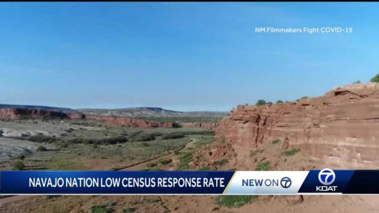 Navajo Nation seeing low Census response rate