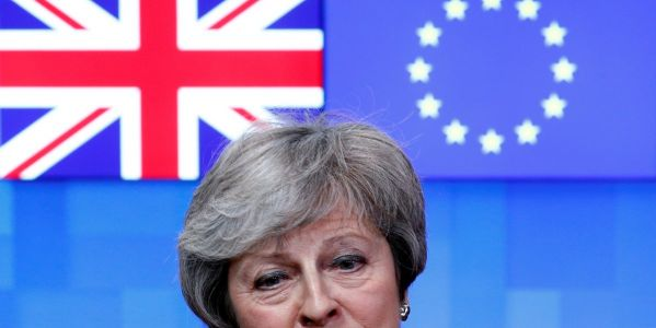 Theresa May heads to Brussels in last-ditch bid to save her Brexit deal, as the EU rejects talks of breakthrough