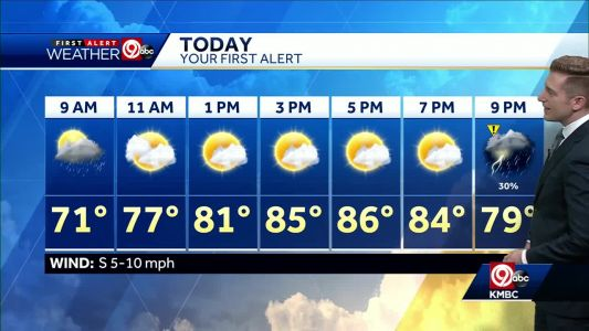 First Alert: We'll see 90s for Memorial Day weekend