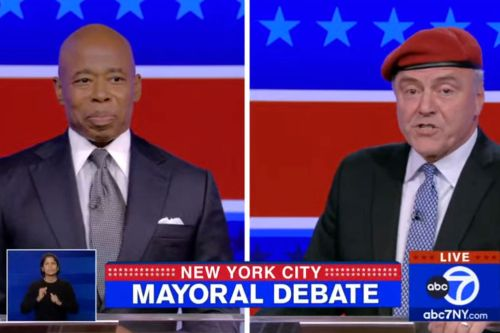 Adams-Sliwa take personal jabs over child support, residency in contentious mayoral debate