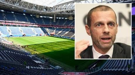 UEFA chief says St. Petersburg is 'absolutely ready' to deliver at Euro 2020