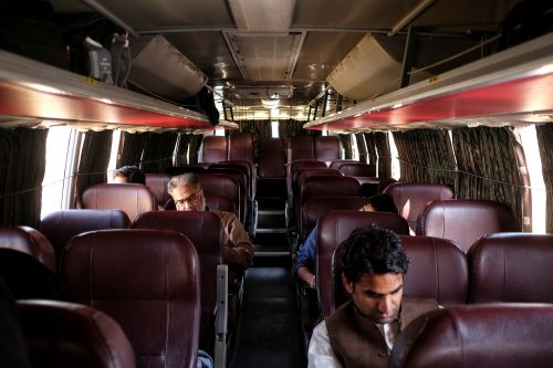 What it's like aboard the unlikely India-Pakistan 'friendship bus'