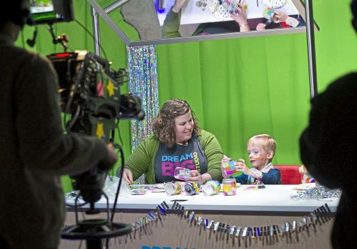 Television studio opens for UPMC Children's Hospital inpatients