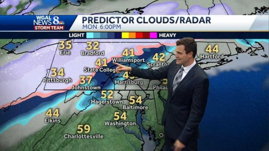 WATCH: Cold Saturday, but turning milder; Possible mix next week