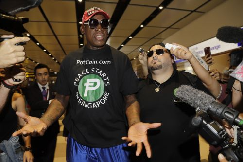 Dennis Rodman heaps praise upon 'friend for life' Kim Jong Un