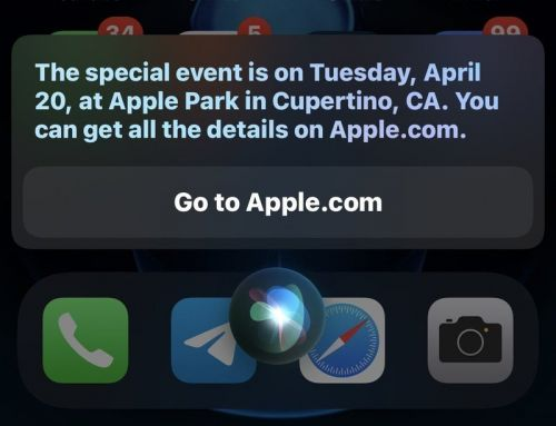 Siri accidentally reveals April 20 Apple event