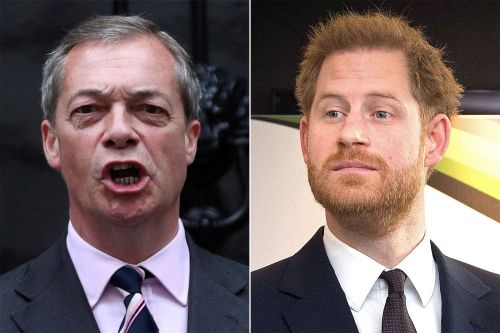 Brits won't welcome Prince Harry home, says Brexit leader Nigel Farage