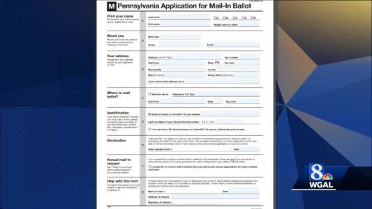 Have you received multiple mail-in ballot applications?