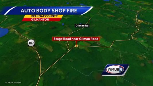 Crews from multiple towns battle fire in Gilmanton