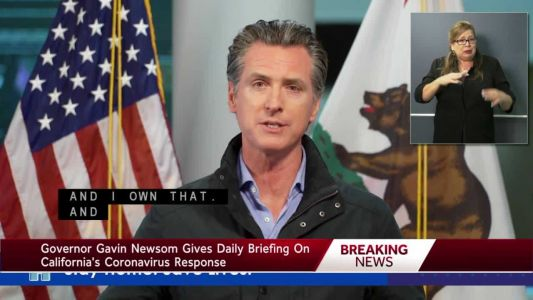 Gov. Newsom gives update on state's COVID-19 response