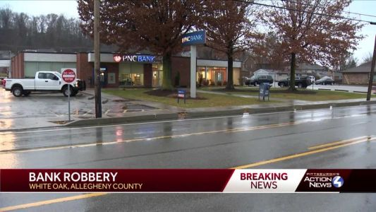 FBI investigates bank robbery in White Oak