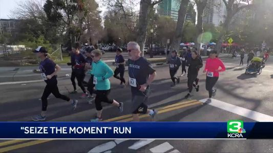 Seize the Moment Run raises funds for epilepsy research