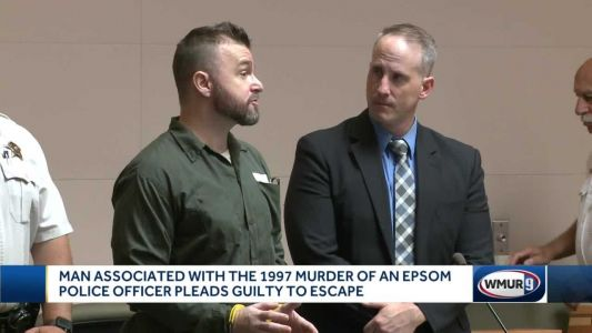 Man sentenced in connection with officers killing pleads guilty to escape