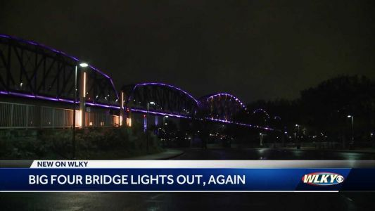 Officials working to fix Big Four Bridge lights before Thunder Over Louisville