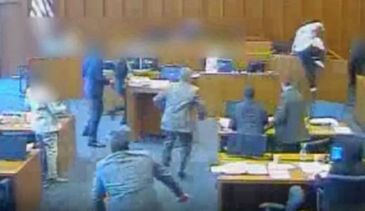 Video shows officer shooting defendant in Utah courthouse