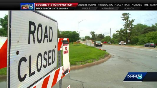 Fleur Drive to reopen today as flood waters recede