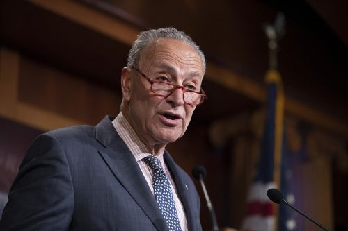 Schumer urges Senate to add election security measures to defense bill