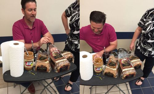 This teacher went viral after making PB&J sandwiches for all his students before an exam