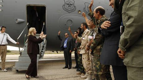 US bases 'lead to stability'?! Tripoli govt invites Pentagon to redeploy troops to NATO-ravaged Libya. to 'deter RUSSIA'