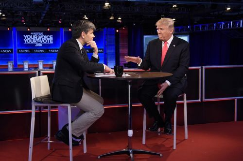 'Enjoy the show!': Trump hypes controversial Stephanopoulos interview