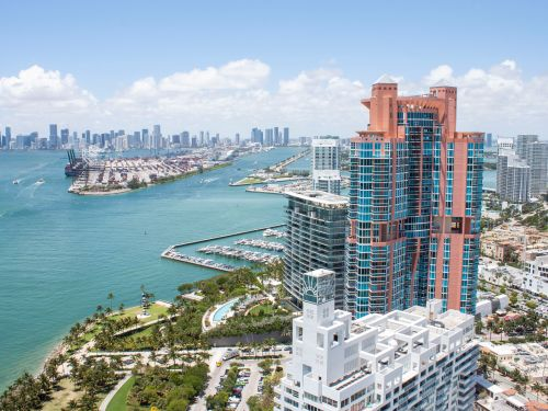 A triplex penthouse that was once Miami's most expensive listing just sold at a 27% discount after 6 years on the market. Take a look inside