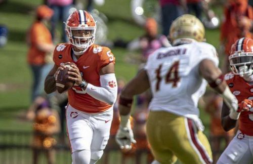 Uiagalelei rallies No. 1 Clemson to 34-28 win over BC