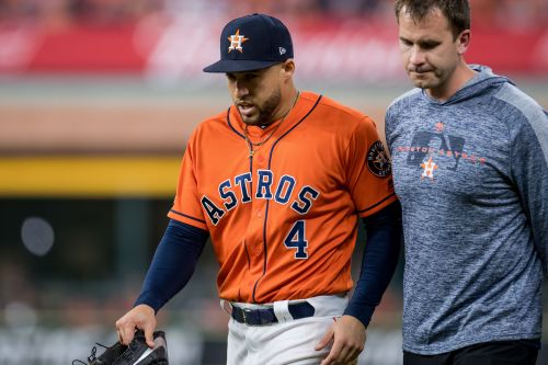 Astros place AL home run leader George Springer on IL