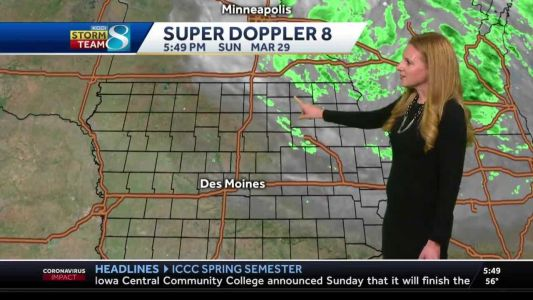 Winds to die down Sunday night