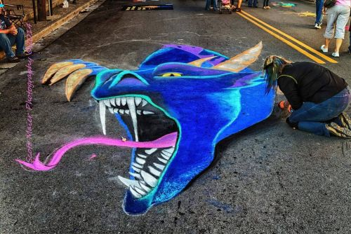Louisville street painting festival taking over Waterfront Park