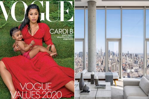 Inside the $24.5M penthouse where Cardi B and Kulture shot their Vogue cover
