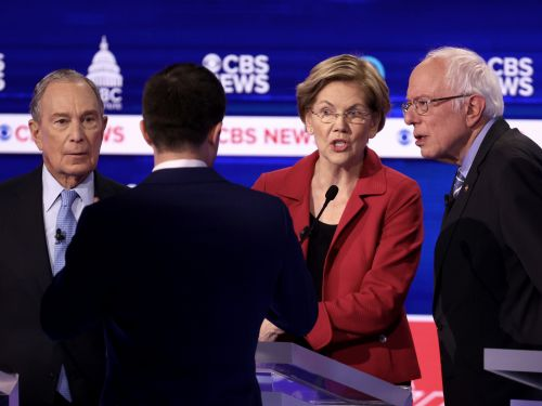 The top 6 moments from the South Carolina's chaotic Democratic debate