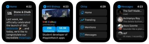Chirp 2 for Apple Watch adds infinite scrolling timelines and more