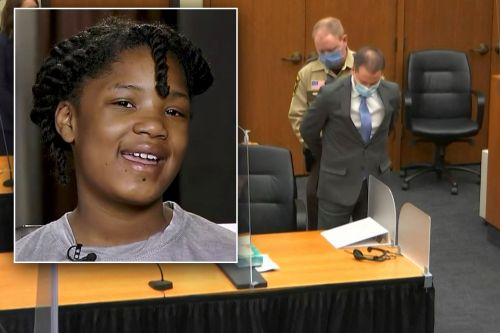 10-year-old George Floyd witness says she's 'proud' she helped convict Derek Chauvin