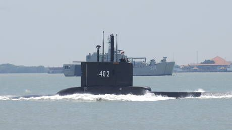 Search underway for Indonesian submarine missing north of Bali, 53 on board - military
